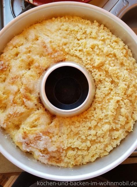 Omnia Rezept: Streuselkuchen oder Zuckerkuchen