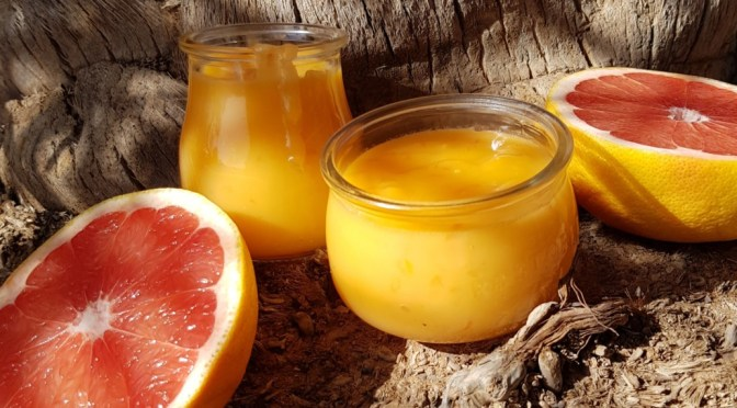 Grapefruit Curd