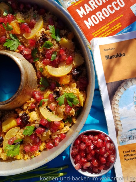 One Pot Couscous mit dem Aroma Marokkos. Aus dem Omnia Backofen