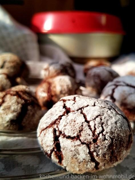 Crinkle Cookies im Omnia Ofen backen