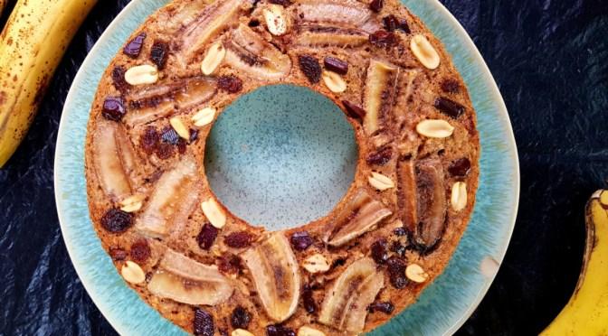 Schokoladiges Low Carb Bananenbrot aus dem Omnia Backofen