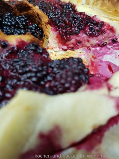 OMNIA Rezept: Einfache Brombeertarte mit Pudding