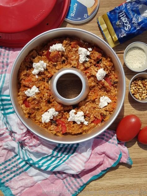 Ofenrisotto: Tomatenrisotto aus dem OMNIA