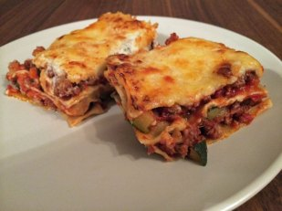 hausgemachte Lasagne