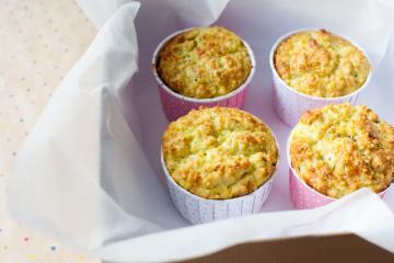 Hirse Gemüse Muffins