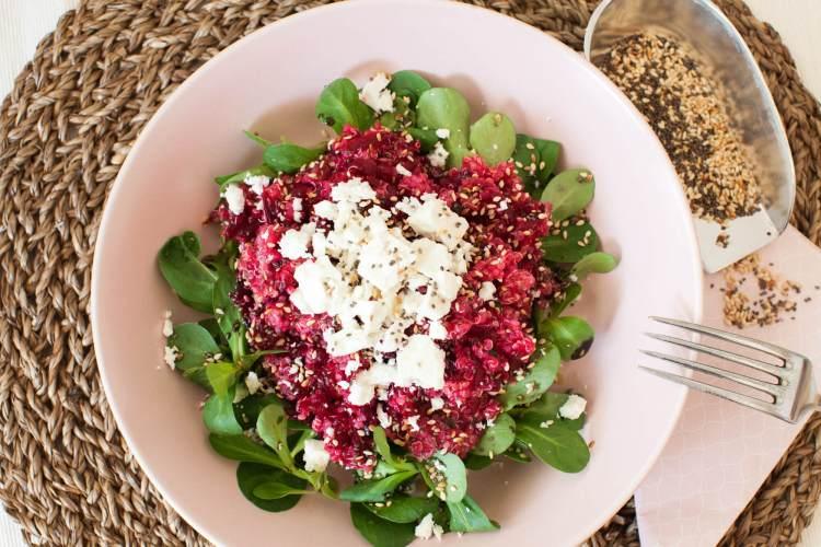 Quinoa-Salat mit Roten Rüben – Eiweiß & Vitamine