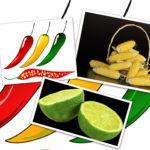 Maiskolben, Limonen und Chili