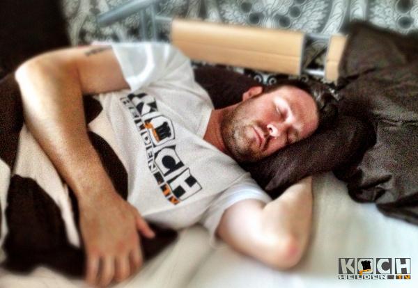 Schlaf und Regeneration ist wichtig