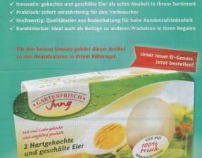 Eier geschaelt