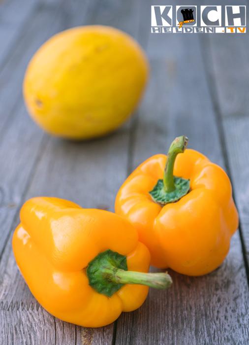 Paprika-gelb