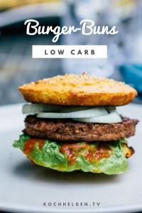 Low Carb-Burger - www.kochhelden.tv