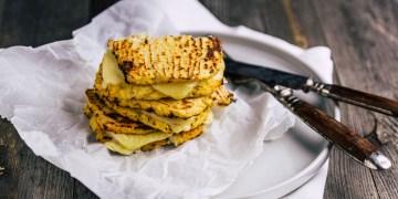 LowCarb-Blumenkohl-Käse-Sandwich - www.kochhelden.tv