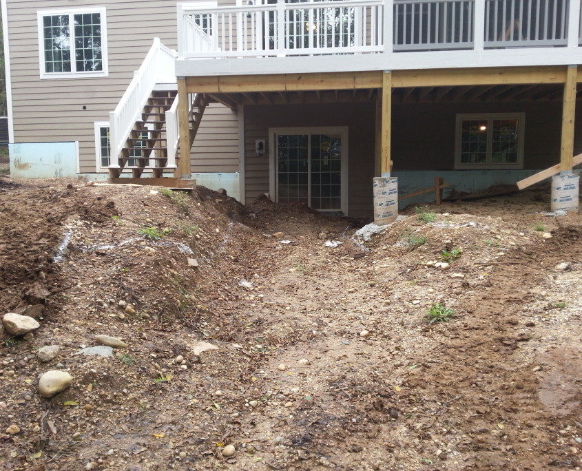 Retaining Walls Before Amp After Gallery Koch Kuts
