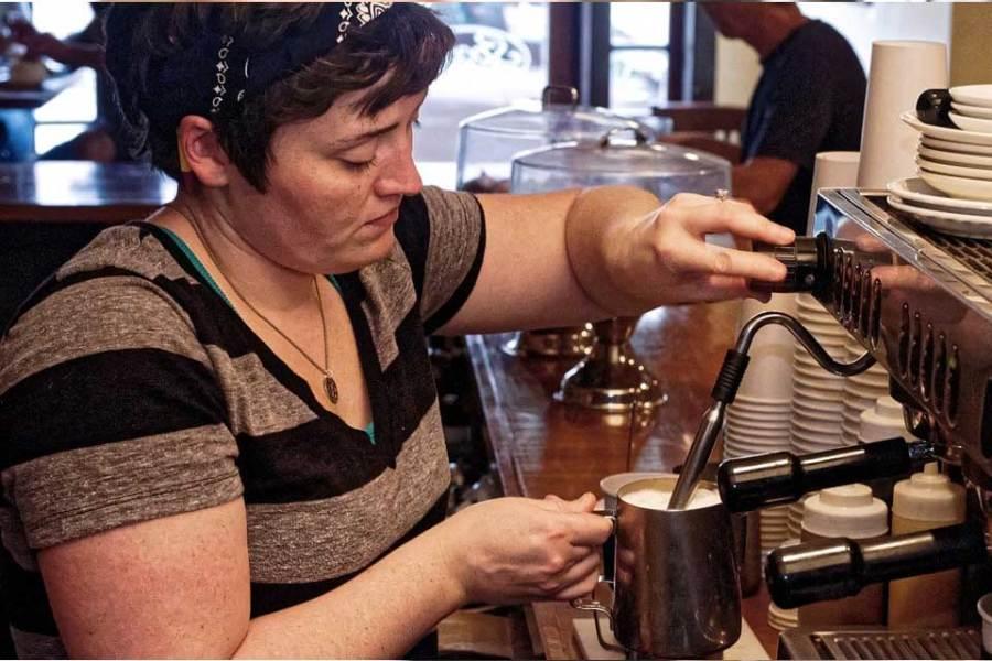 Cappuccino aus Siebträgermaschine