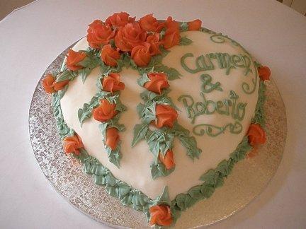 Hochzeitstorte für Carmen & Roberto