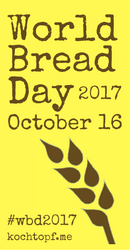 World Bread Day, October 16, 2017