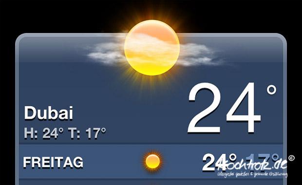 Wetter in Dubai