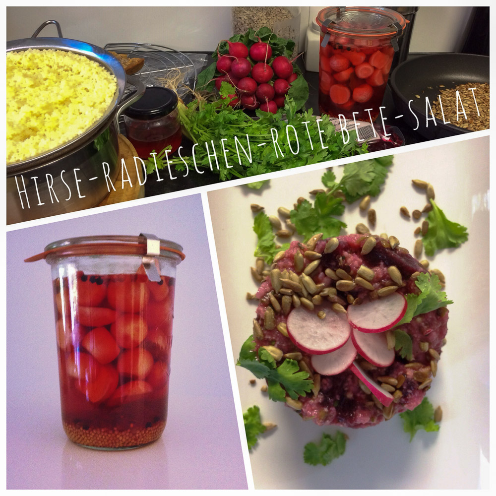 rote bete hirse radieschen salat mit oder ohne thermomix kochtrotz food und reise blog. Black Bedroom Furniture Sets. Home Design Ideas