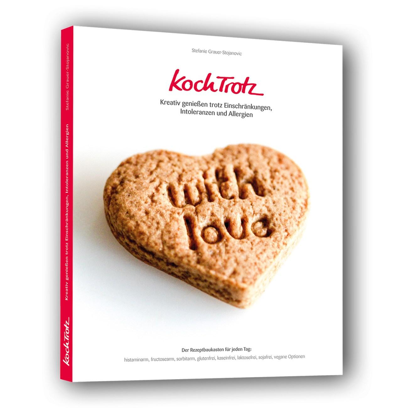 """Buchvorschau KochTrotz Kochbuch Band 1 """"WITH LOVE"""" – Blick ins Buch"""