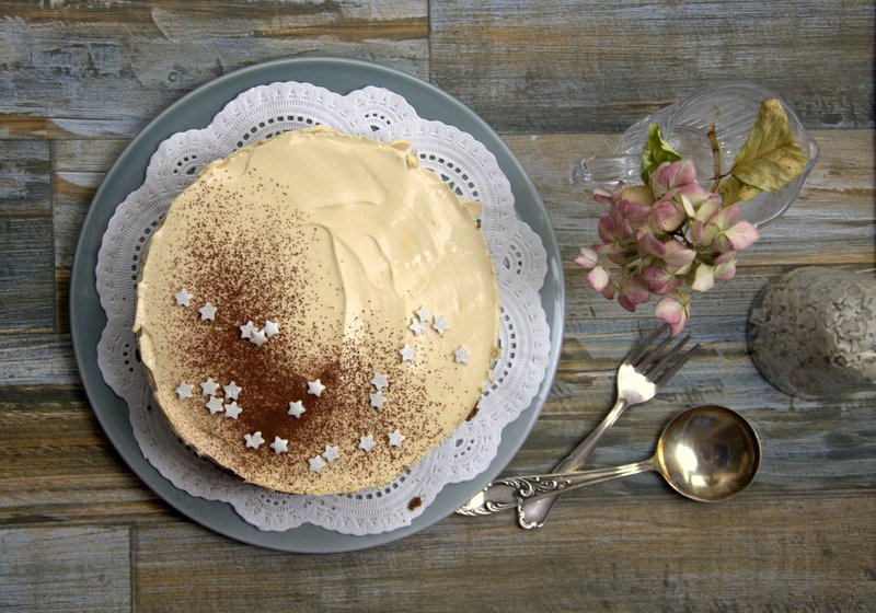 Coffee-cheese-cake
