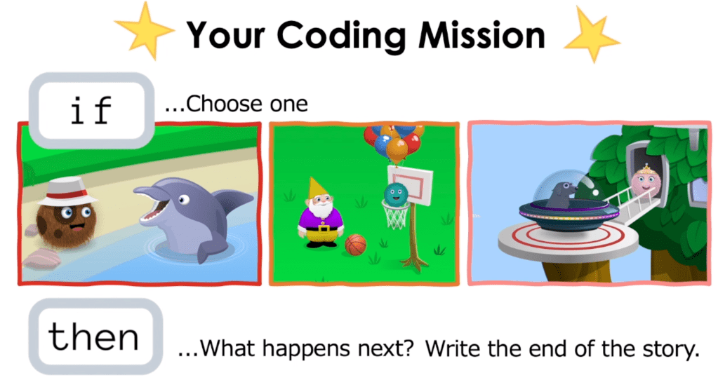 Learn with conditions through this coding mission!