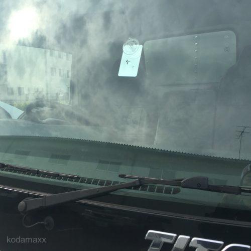 トラックの飛び石-越谷市