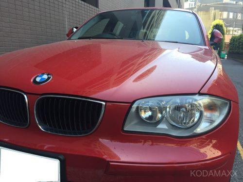 BMWの飛び石修理