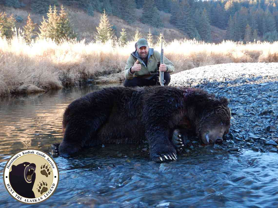 Kodiak brown bear hunt