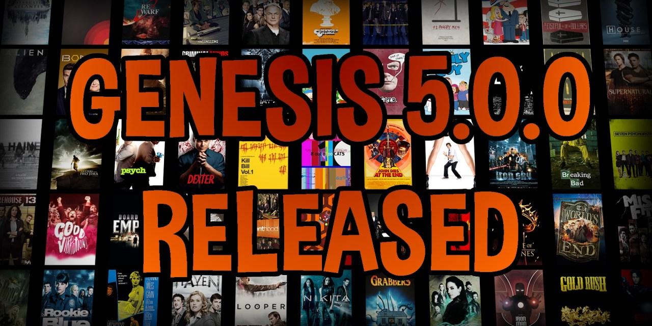 GENESIS V5 – NO MORE DOWNLOAD OPTION