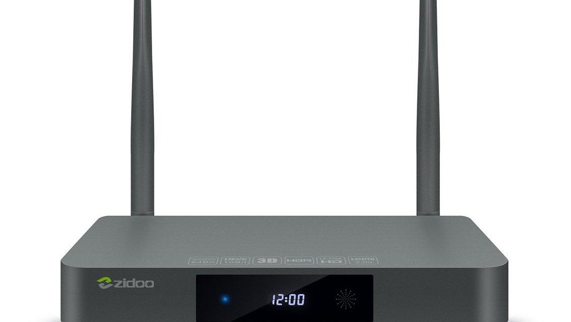 Zidoo X9S Android 6.0 TV Box OpenWRT(NAS)
