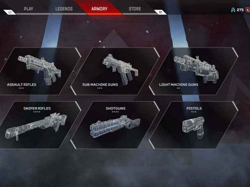 Apex Legends' Weapon Tier List February 2021