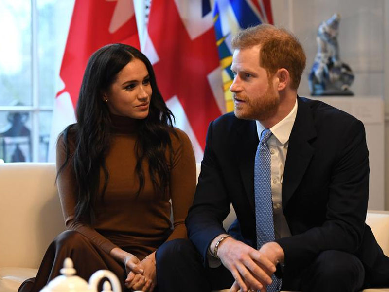 Harry and Meghan 'in a very good place' one year after shock Megxit statement