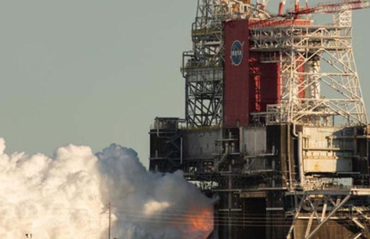 NASA's SLS rocket will go through a second and longer hot fire test