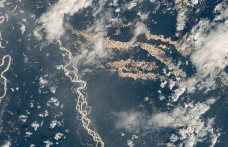 "Dark Truth Behind NASA's Stunning Amazon ""Gold Rivers"""