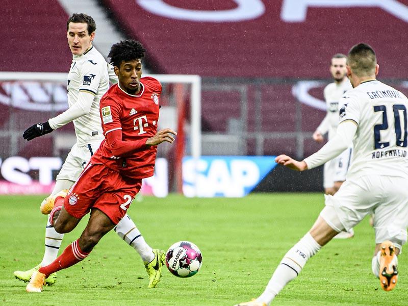 Bayern extend winning streak in Germany, Inter go top in Serie A