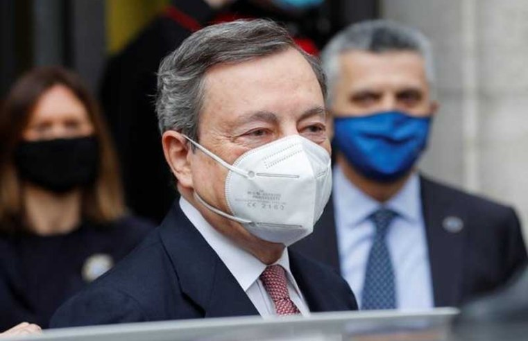 Italian PM Draghi vows sweeping reforms, calls for unity ahead of Senate vote