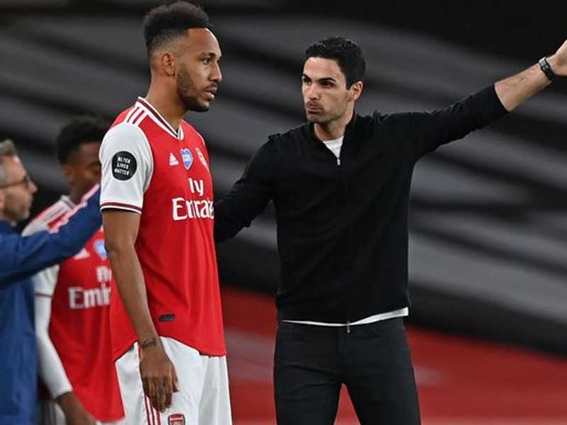 Arsenal fans excited as Mikel Arteta gets his Pierre-Emerick Aubameyang wish