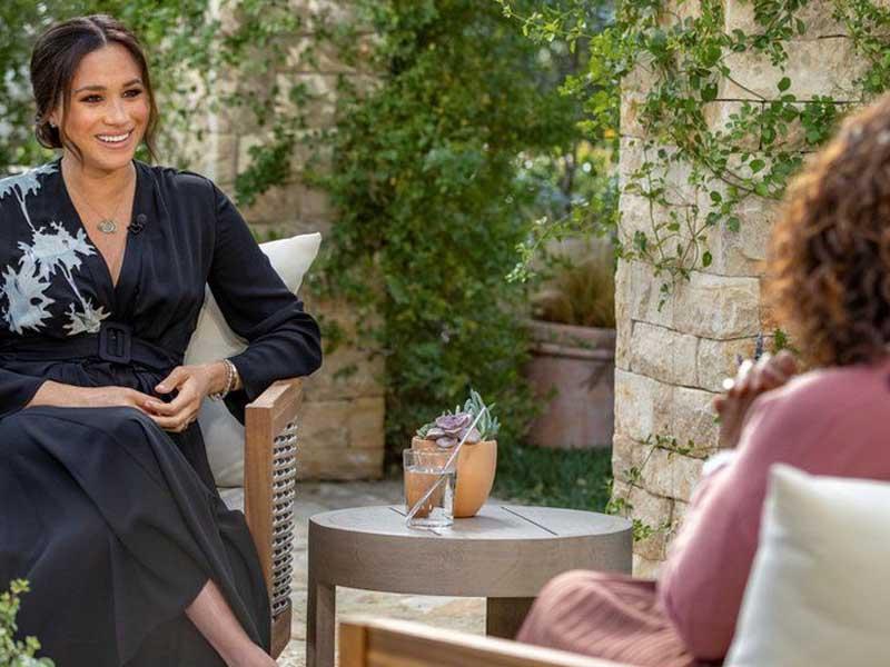 Meghan Markle: Charity kept donation secret until Oprah interview