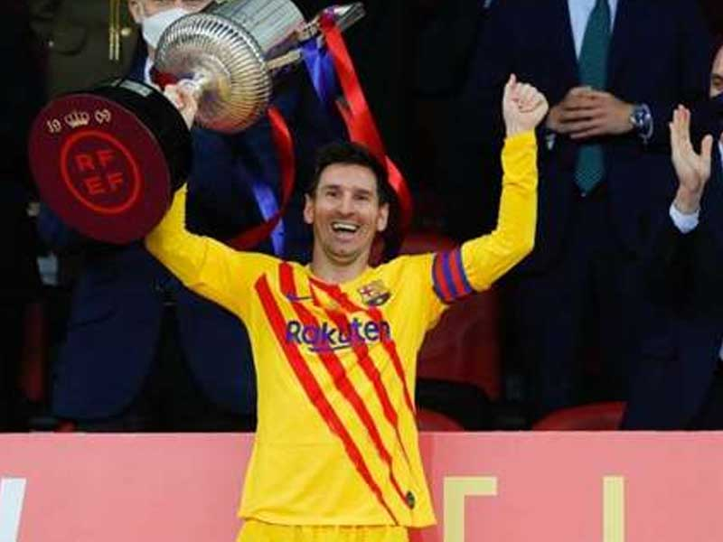 Lionel Messi: Barcelona star picks out negative from Athletic Bilbao Copa del Rey win