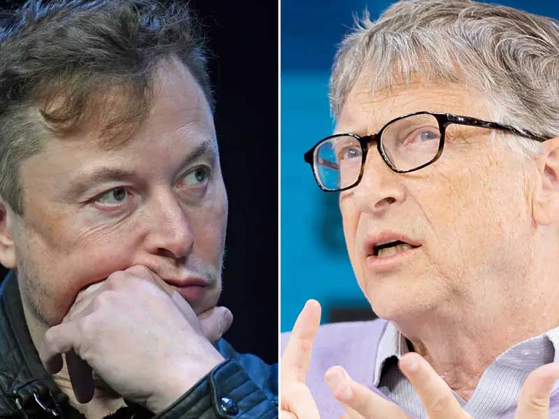 Elon Musk took a swipe at Bill Gates and Microsoft Zune with an edited version of an anti-vaccination cartoon