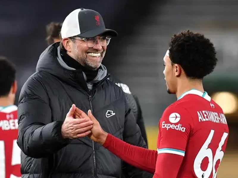 Liverpool boss Jurgen Klopp shocked by Trent Alexander-Arnold's England omission