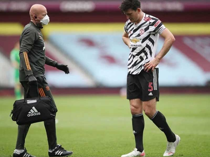 Harry Maguire injury latest: Ole Gunnar Solskjar rates Man Utd captain's chances of playing Europa League final