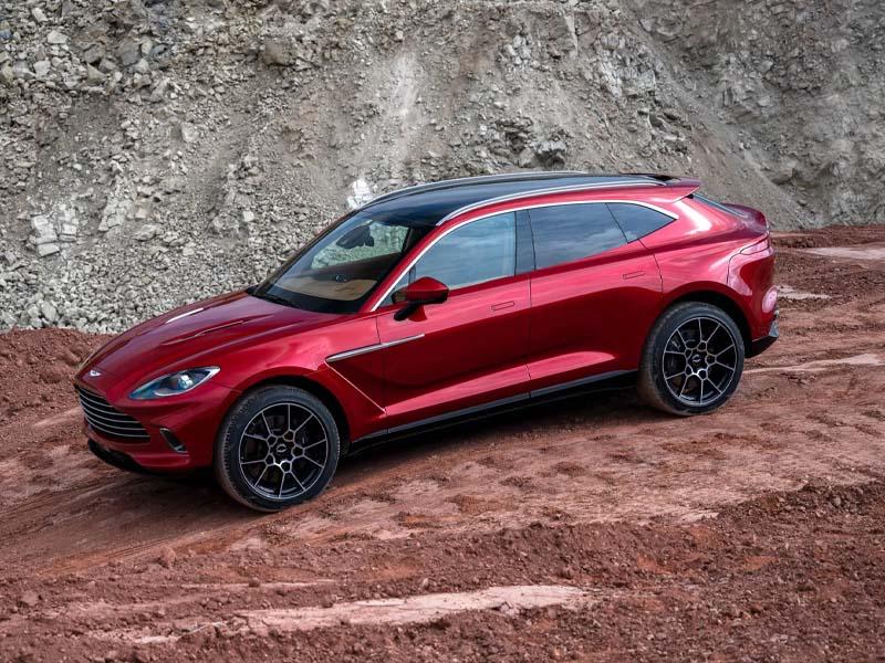 Aston Martin Revenue Tops Estimates as SUV Exceeds Half of Sales