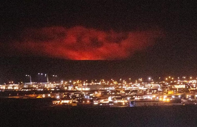 Buyers Making Offers as Active Volcano in Iceland Is for Sale