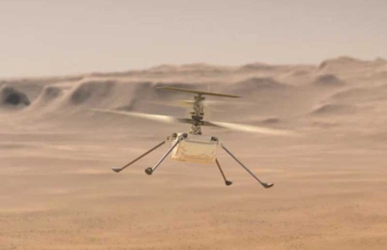 Nasa's Mars helicopter survives choppy flight after malfunction above the Red Plan