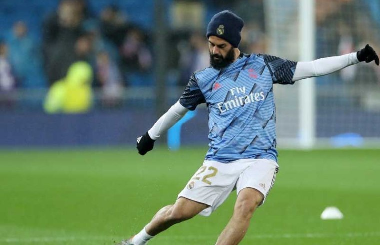 Everton plot summer move for Real Madrid star Isco
