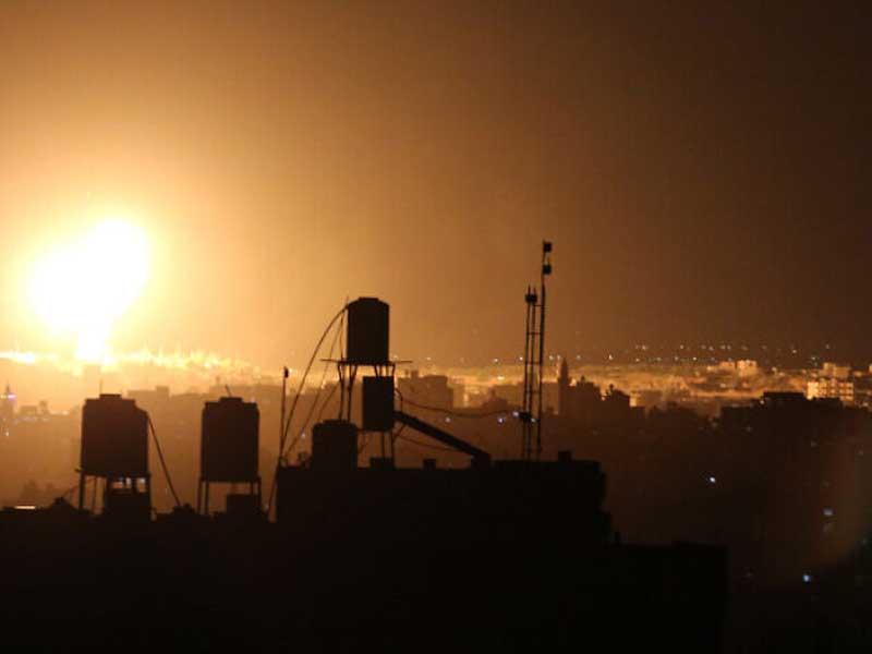 IDF hits Hamas targets in Gaza in response to arson balloons