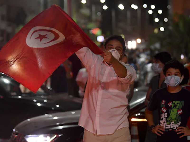 Tunisia's president accused of 'coup' after sacking prime minister over Covid response