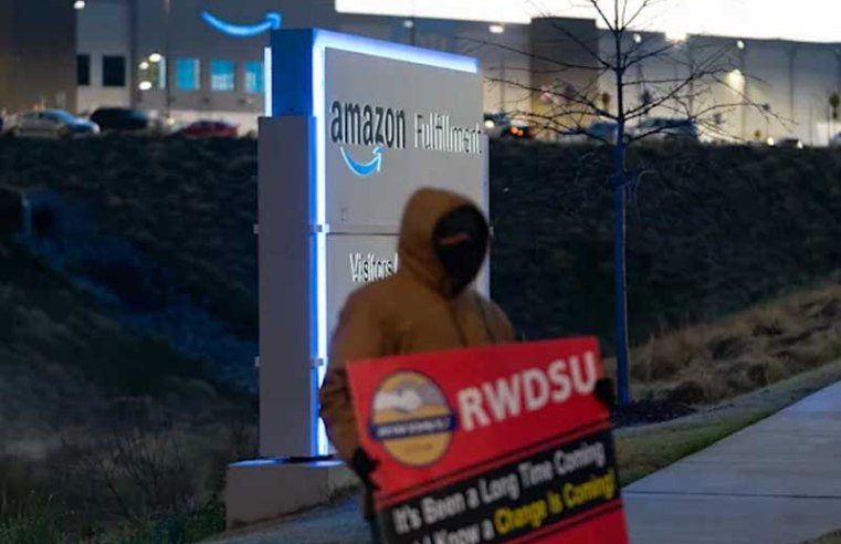 Amazon violated US labor laws in Alabama union vote, labor official rules
