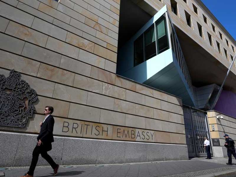 Germany arrests alleged British spy working for Russia